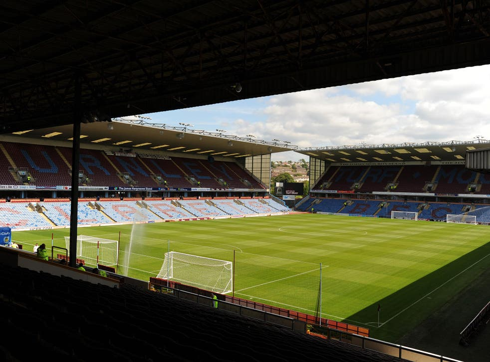 A general view of Turf Moor, one of only three grounds used in the 1888/89 league season that is still in use today