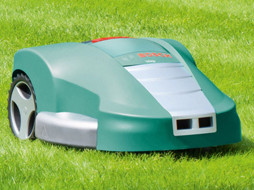 A week with: Bosch Indego lawnmower | The Independentindependent_brand_ident_LOGOUntitled