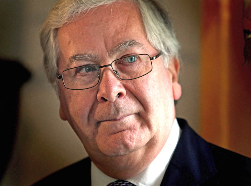 Sir Mervyn's tenure was a tale of two economies