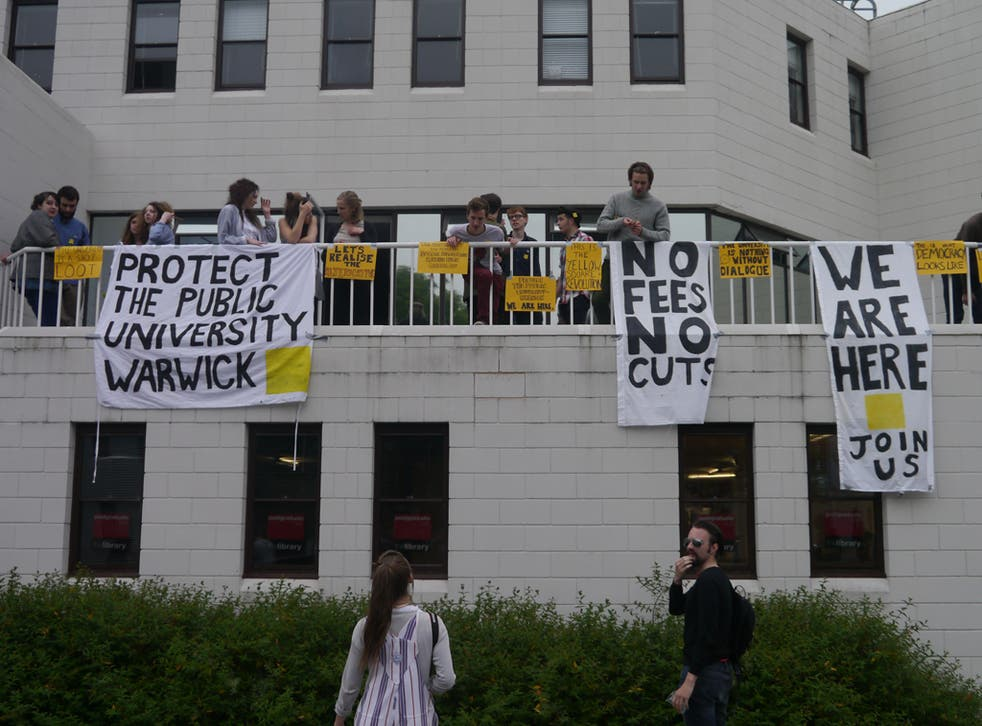 Occupiers at the University of Warwick