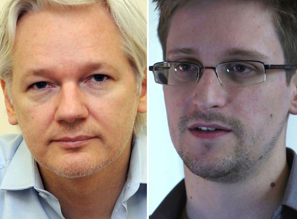 Julian Assange is trying to help Edward Snowden claim asylum