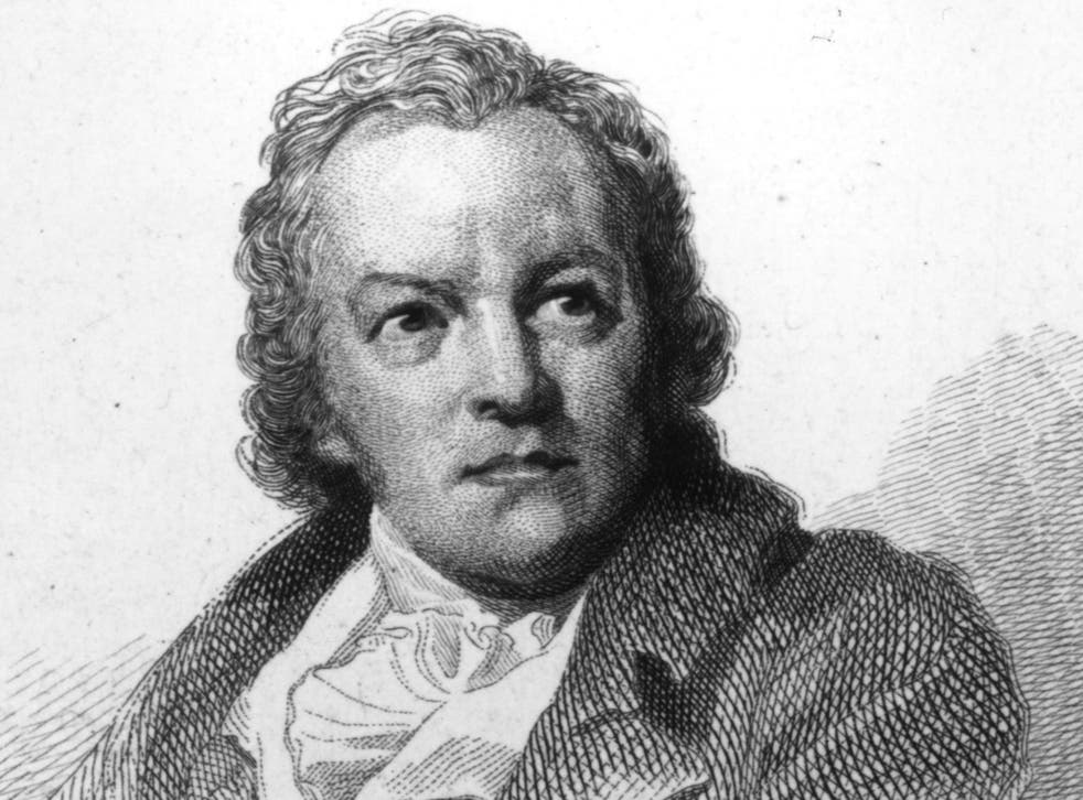 William Blake: The 19th-century poet is not the author of 'Two Sunflowers Move into the Yellow Room'
