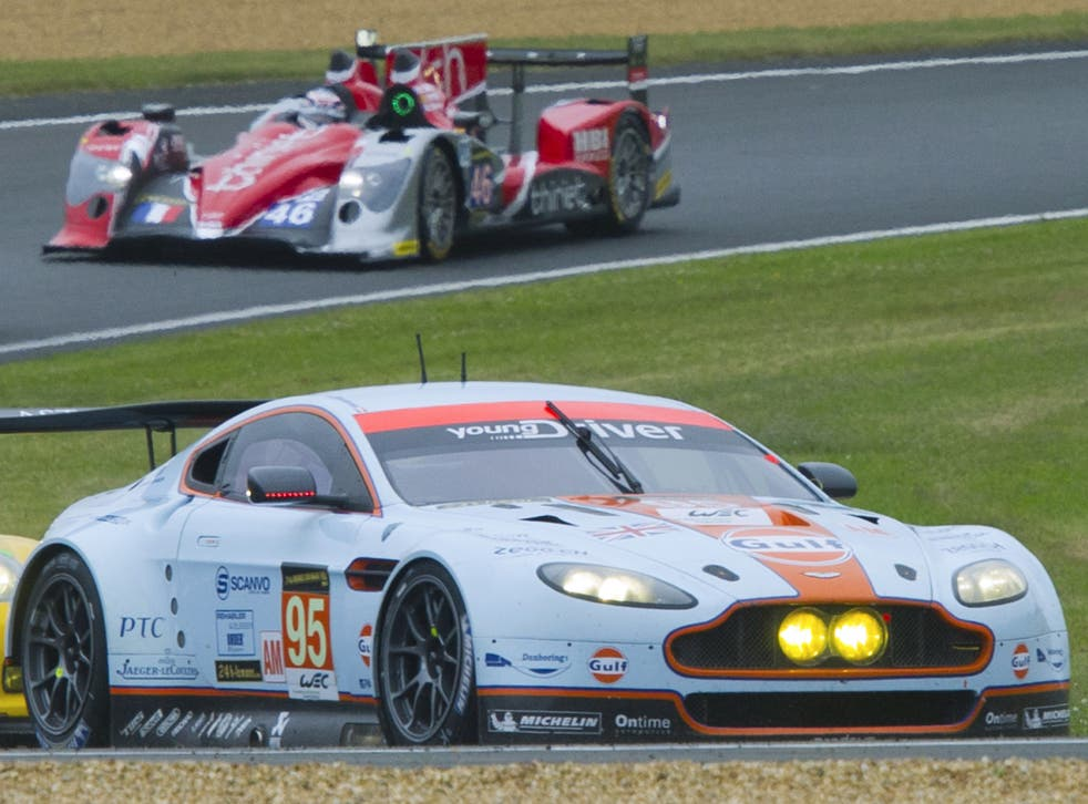 Danish driver Allan Simonsen has died after a crash in the Le Mans 24 hours