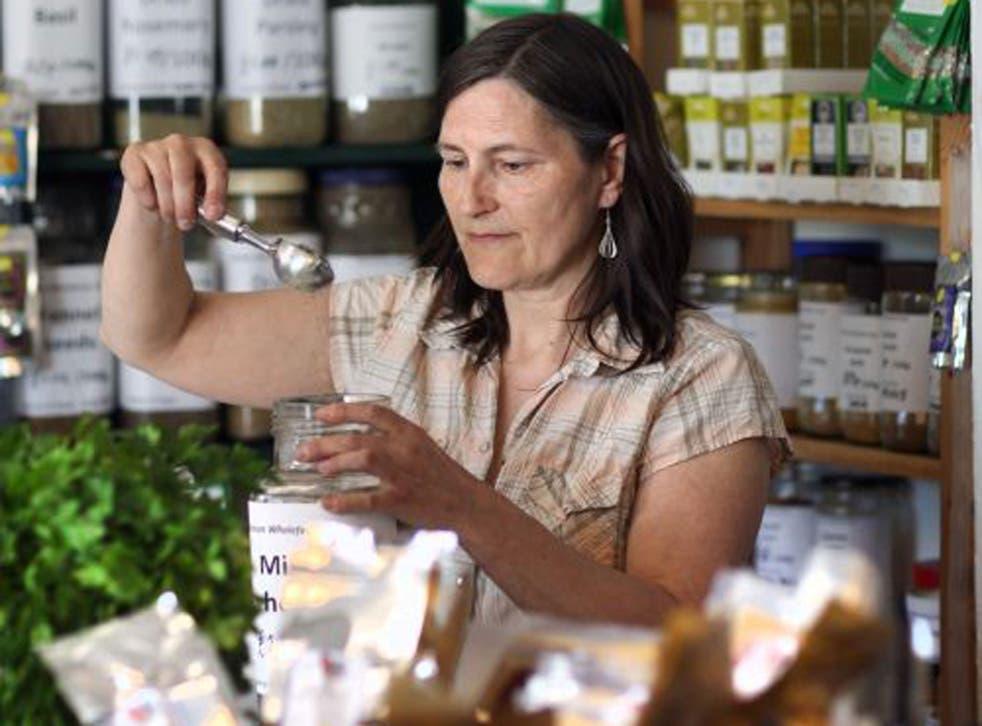 Joy Hatton at Alston Wholefoods