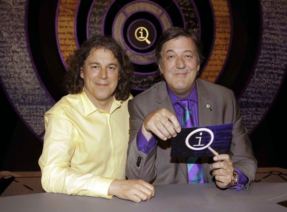 Alan Davies, Stephen Fry on BBC panel show QI