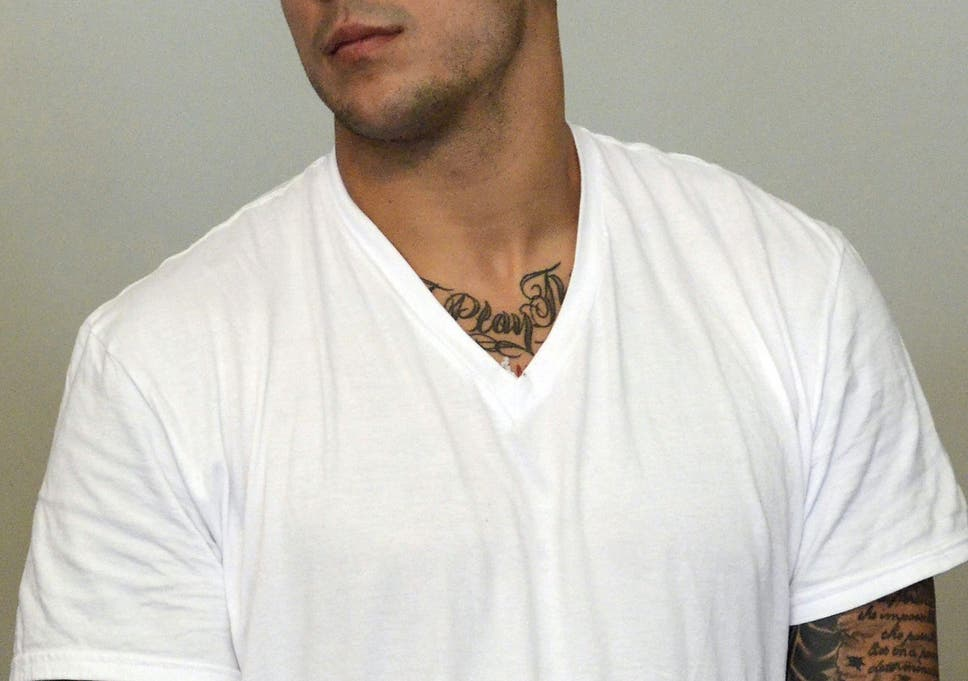 New England Patriots Nfl Star Aaron Hernandez Charged With First