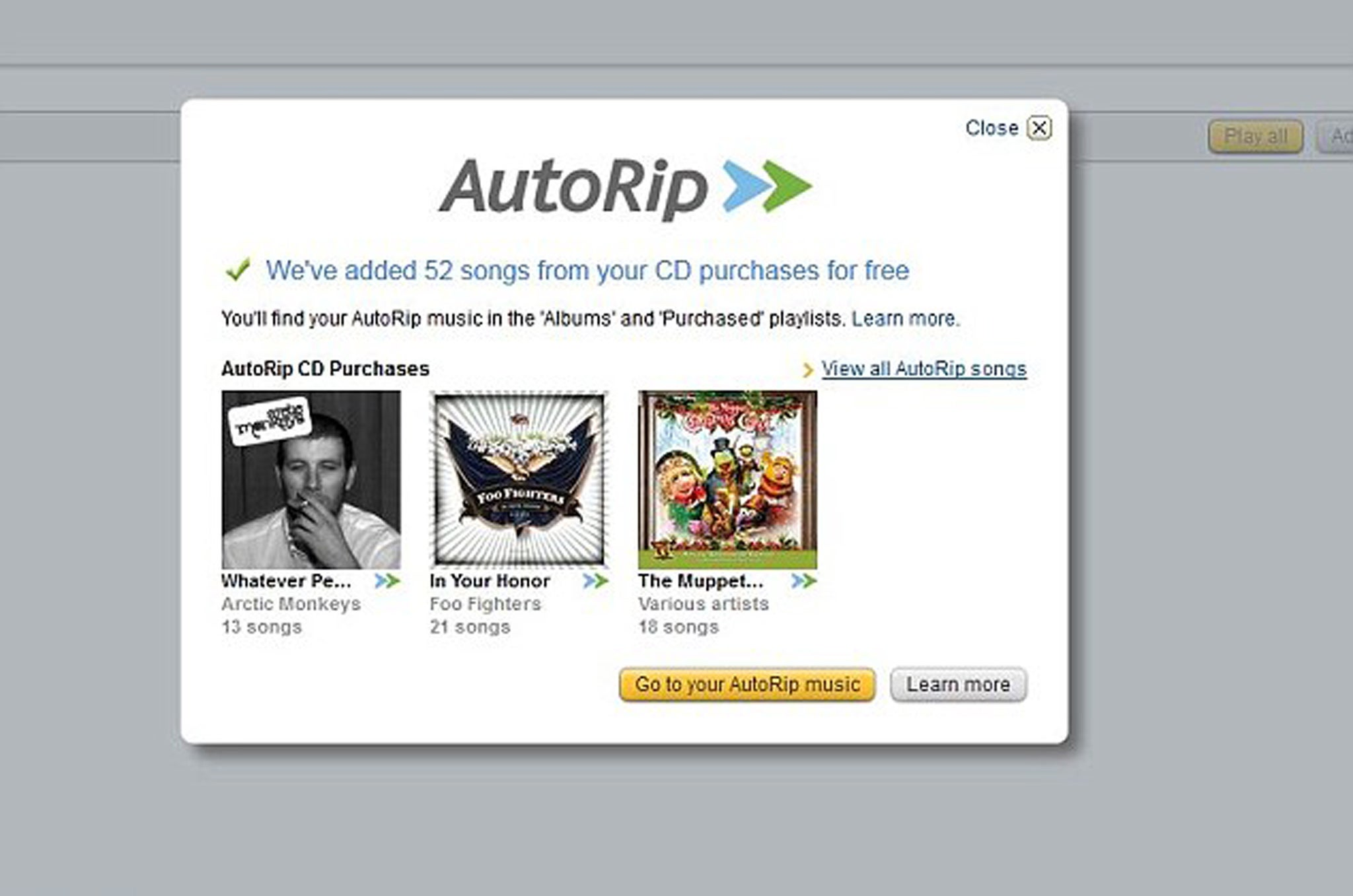 Amazon gives UK customers free MP3 download of any CD bought