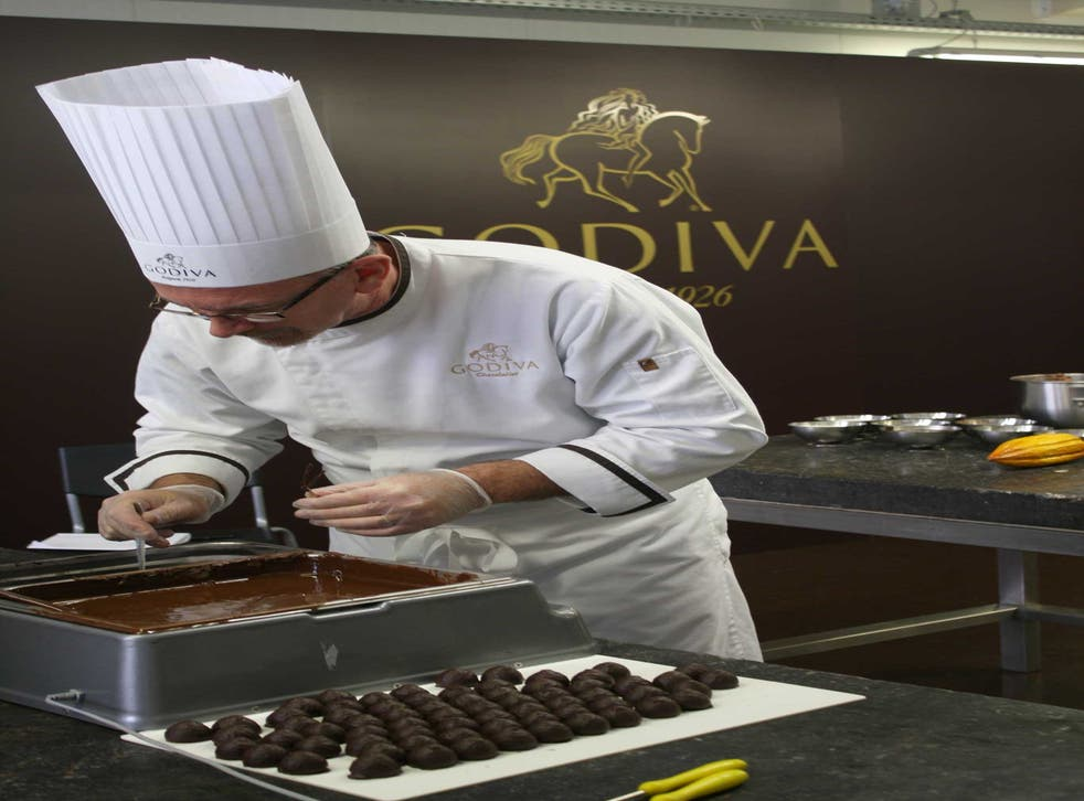 Experimenting with flavours: Godiva chocolates crafted at the factory