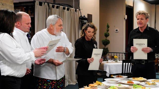 Gordon Ramsey in 'Kitchen Nightmares'