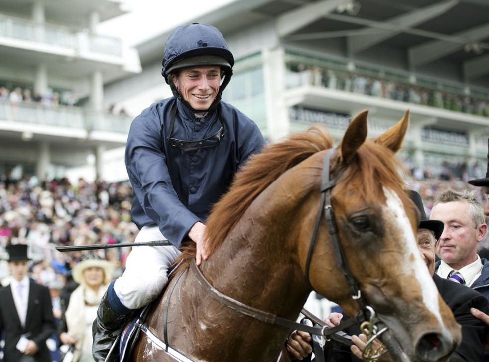 Ruler Of The World, in the winner's enclosure at Epsom, seeks a Derby follow-up in the Curragh today