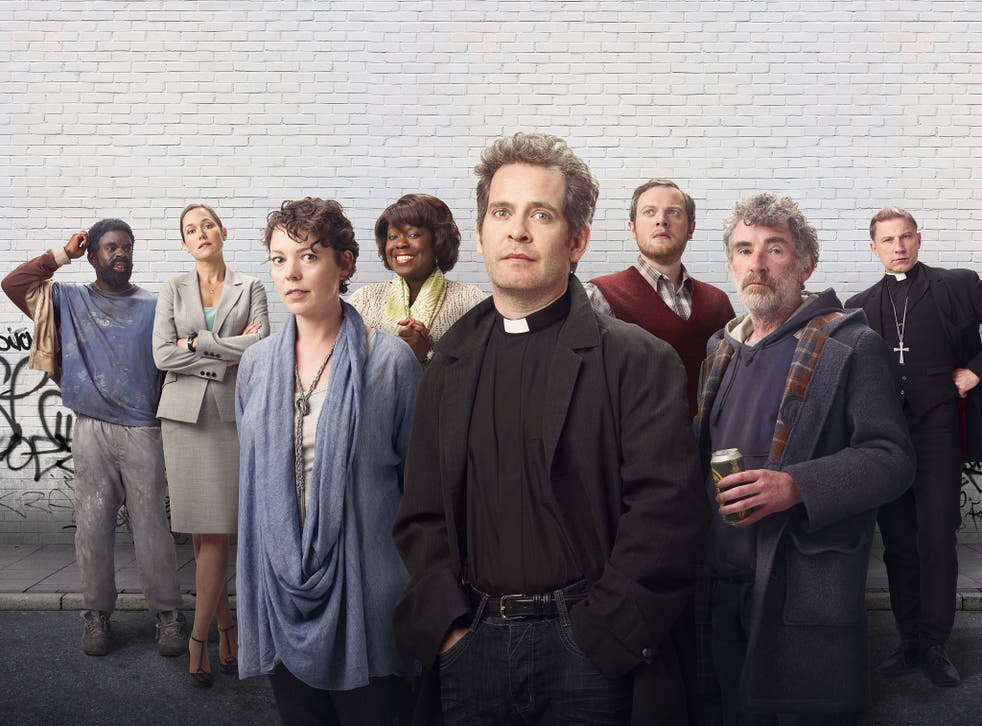 Let us play: In Rev, Adam Smallbone (Tom Hollander) knows the schools game