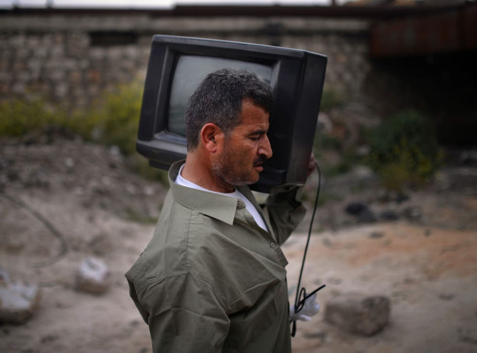 Broadcast news: Is what this Syrian hears on TV to be trusted