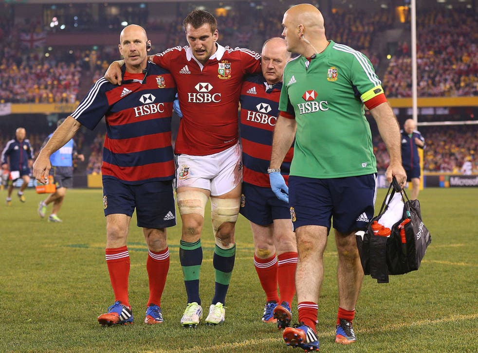 Sam Warburton was the player who caused the Wallabies so much grief at the breakdown in the second Test in Melbourne
