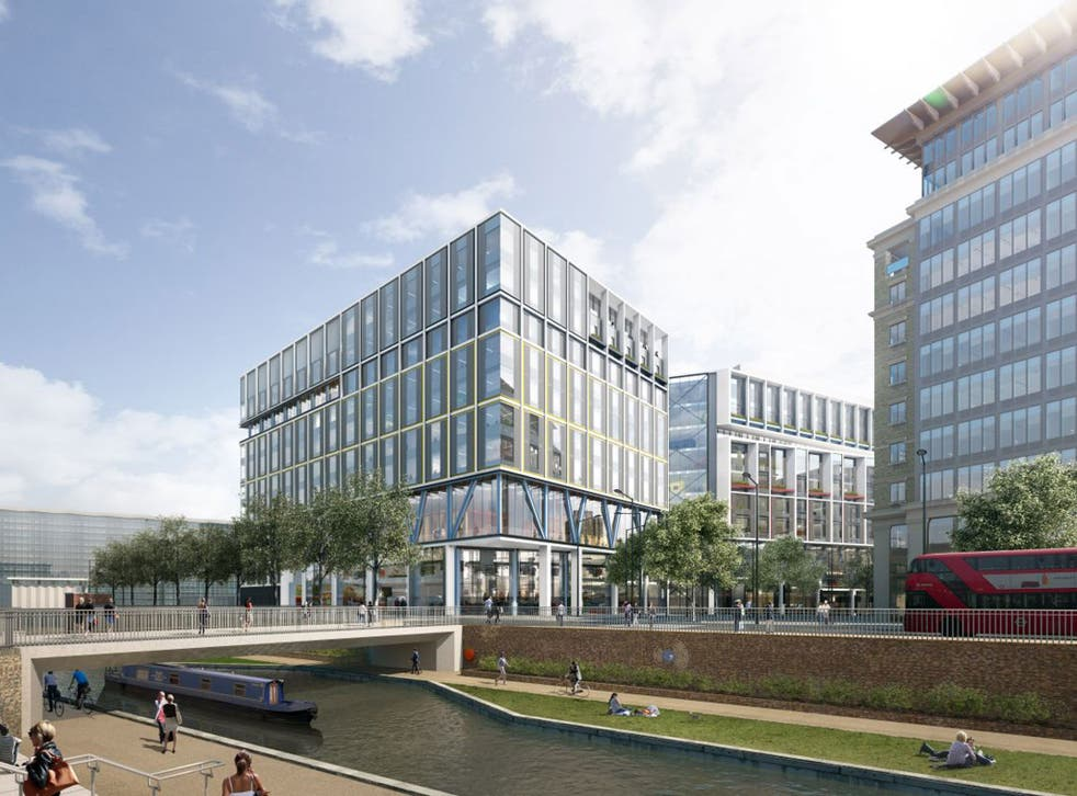 A land-hugging complex in King's Cross that will be longer (at 330m) than the Shard is tall (310)