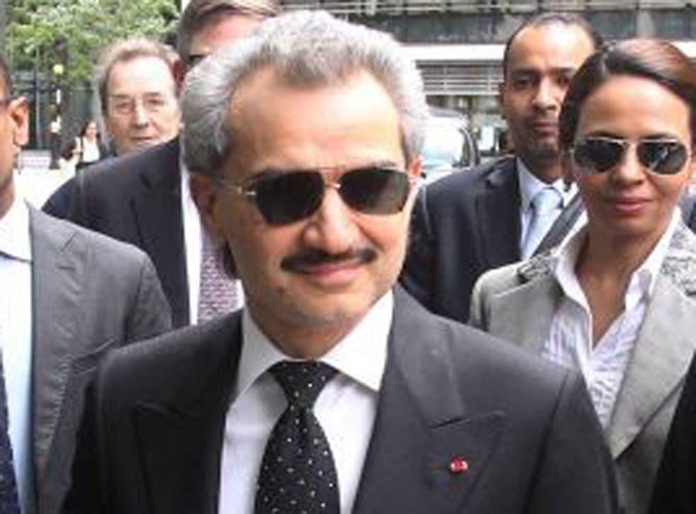 Prince Al-Waleed bin Talal apparently made the offer in a tweet