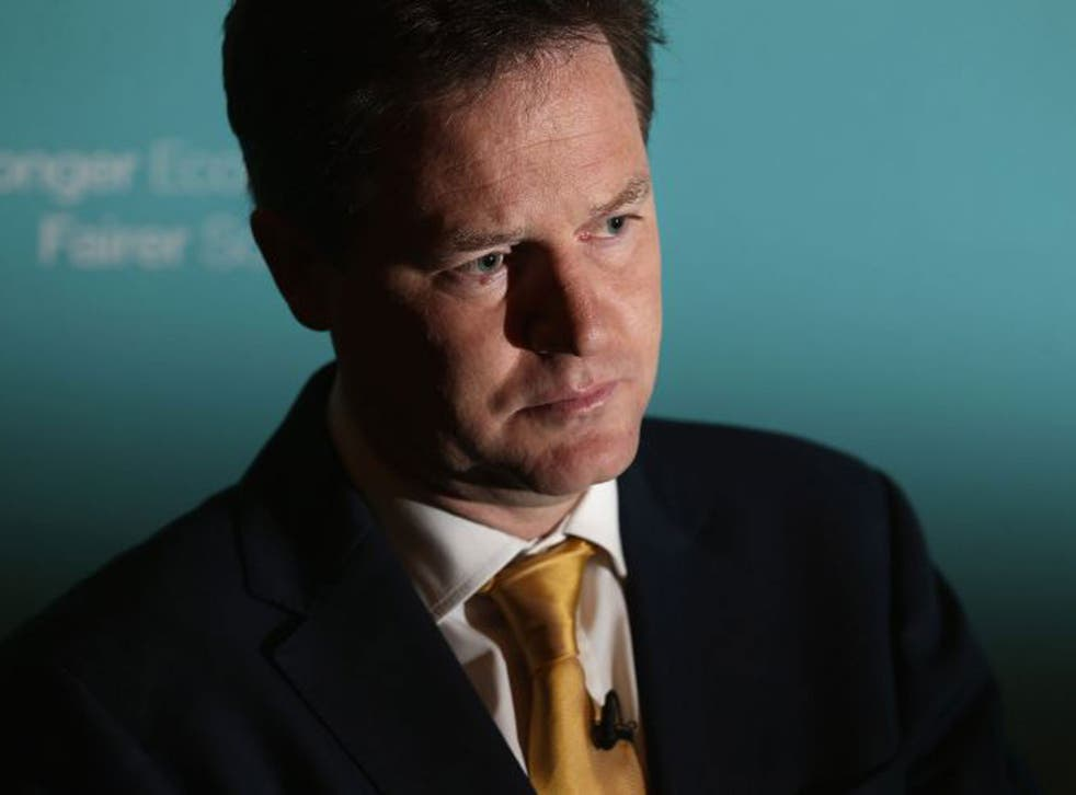 Nick Clegg: 'Yes to greater diversity; yes to more choice for parents; but no to running schools for profit, not in our state-funded education sector'
