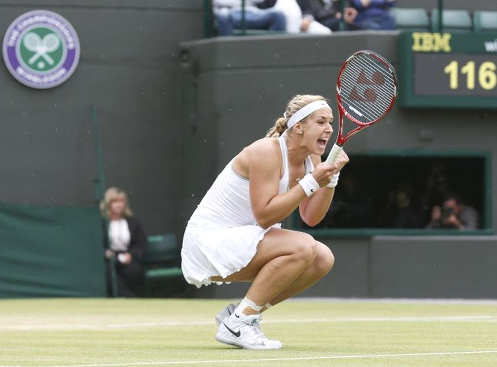 Lisicki defeated Kanepi 6-3 6-3 to equal her previous best at the All England Tennis Club with a semi-final appearance