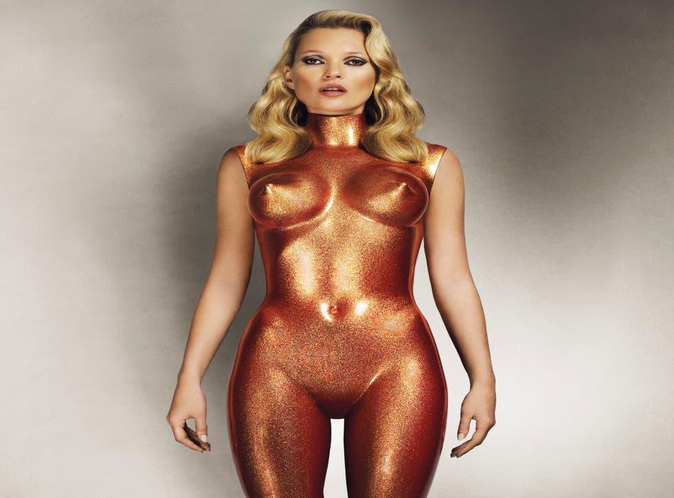 <p>Kate Moss (bronze glitter), 2013 by Allen Jones</p> <p>dye-destruction print</p> <p>image 42 ¾ x 42 ¾ in. (108.6 x 108.6cm.)</p> <p>sheet 50 x 50in. (127 x 127cm.)</p> <p>Estimate: £20,000-30,000</p>