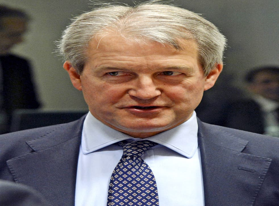 Owen Paterson, Secretary of State for Environment