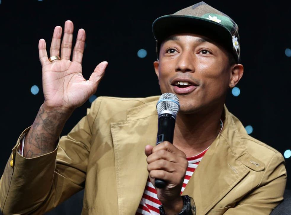 Pharrell Williams has already featured on the two big hits of the summer