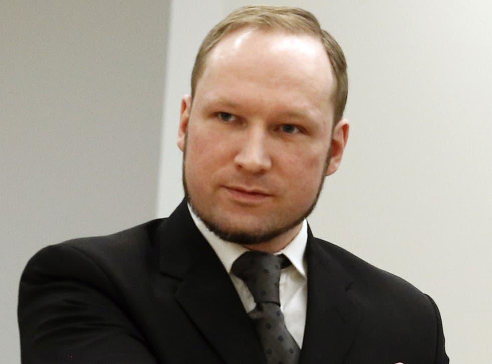 Breivik during his trial