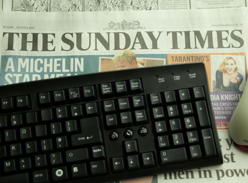 The Sunday Times claimed a victory for press freedom