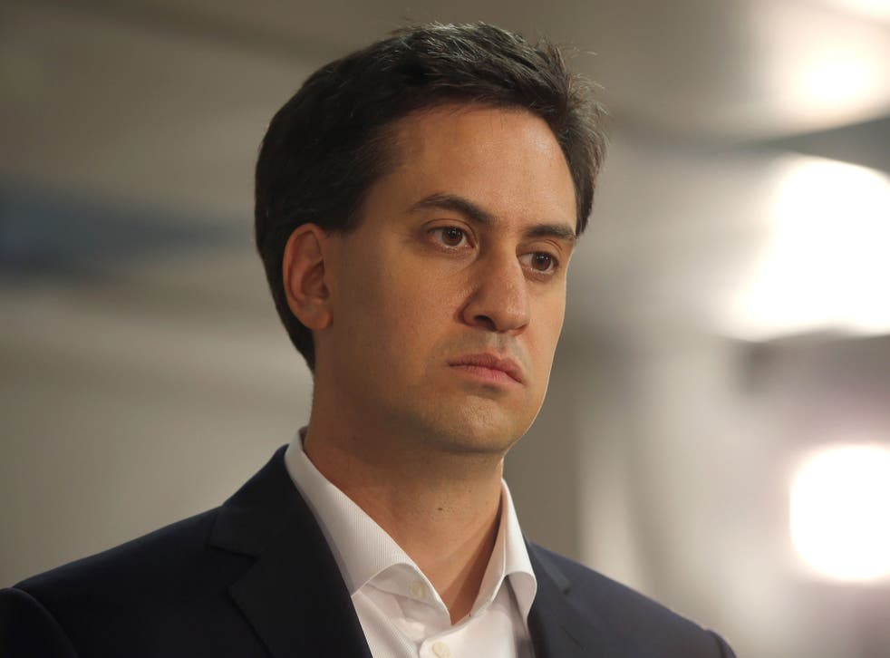 Miliband needed within months of his election as leader to demonstrate his independence
