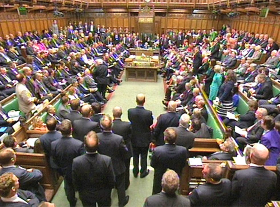 The House of Commons, Westminster