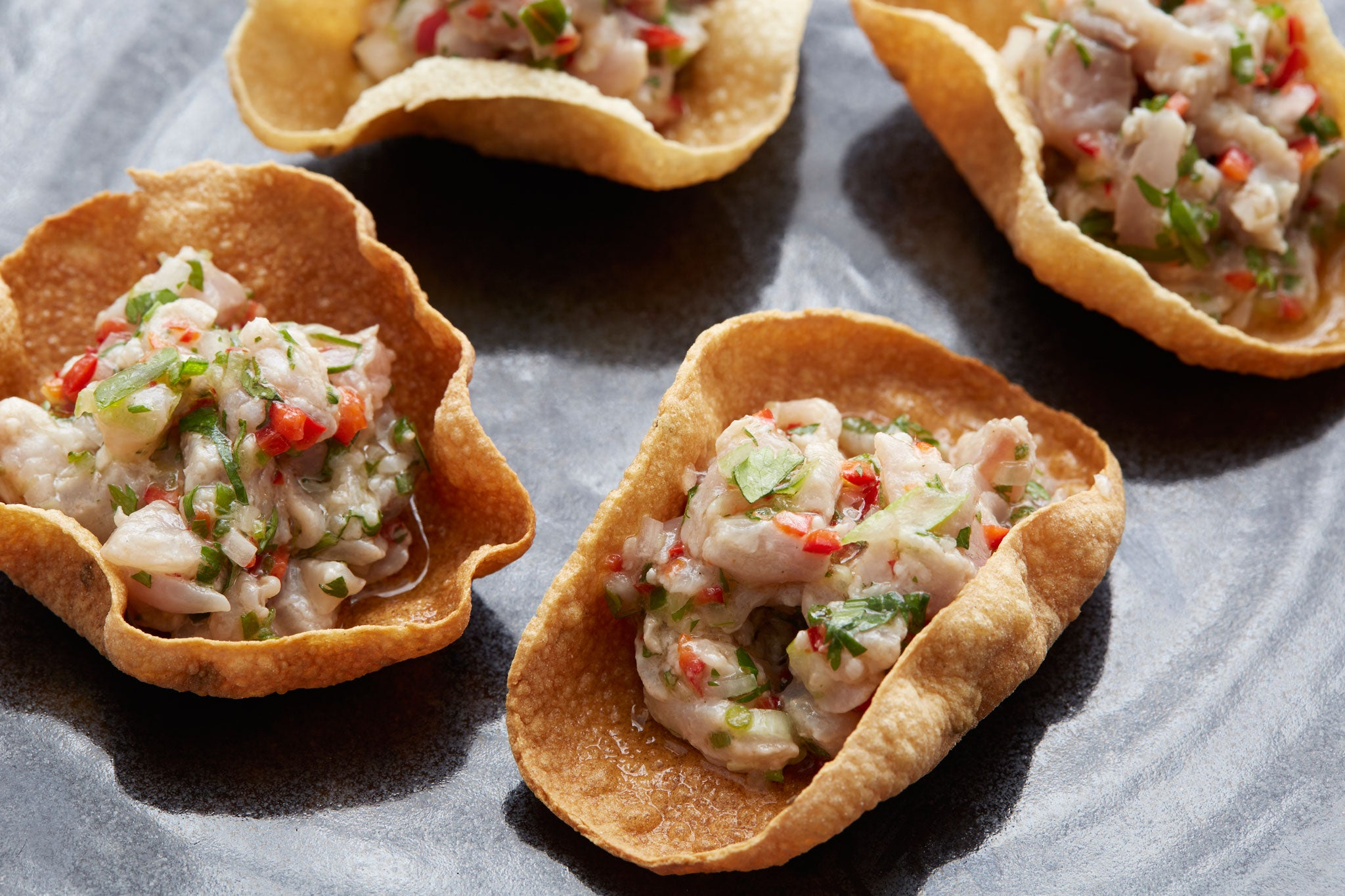 Mackerel ceviche canap s the independent for Canape insurance