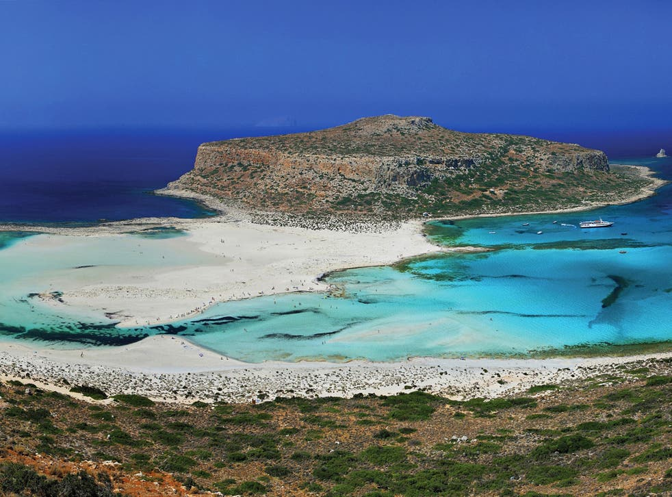 A self-catered week on the Greek island of Crete costs £199pp for a 15 September departure with Cosmos