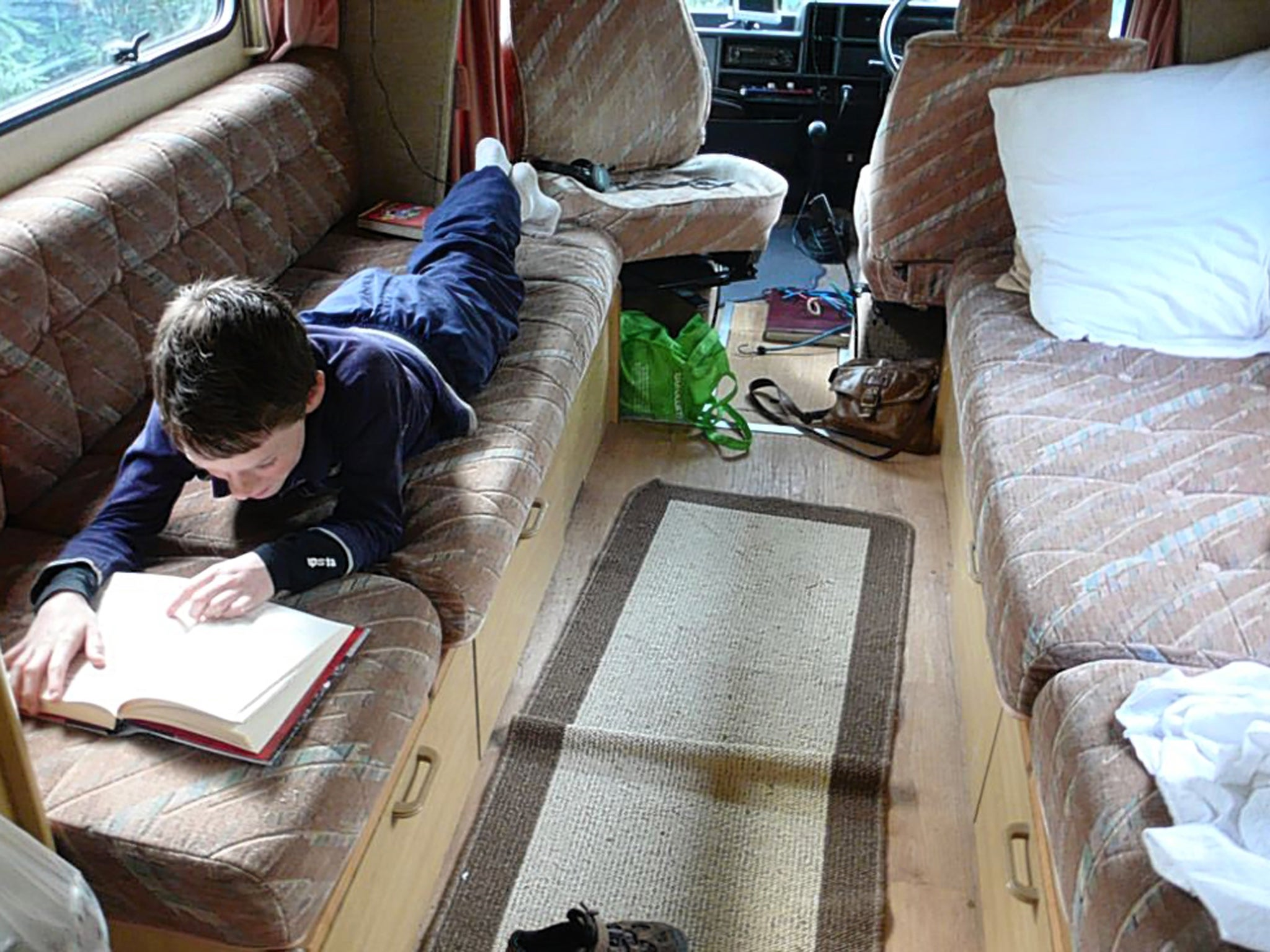 Driving along in my cottage on wheels | The Independent