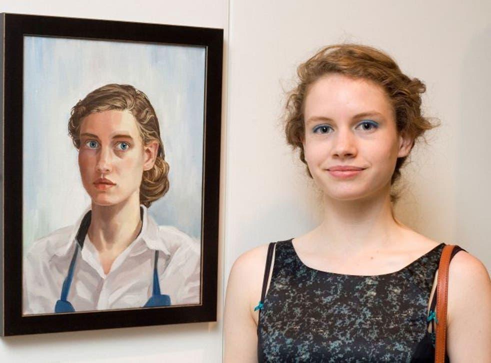 One to watch: Atalanta Arden-Miller, painter, 17