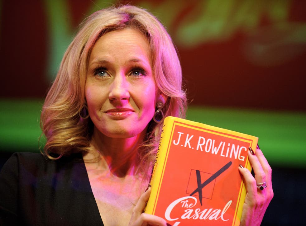 The most abandoned book was J K Rowling's The Casual Vacancy