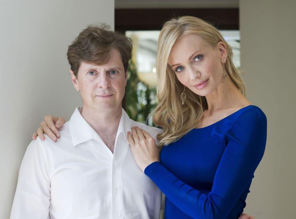 Andrei Borodin with his wife Tatiana