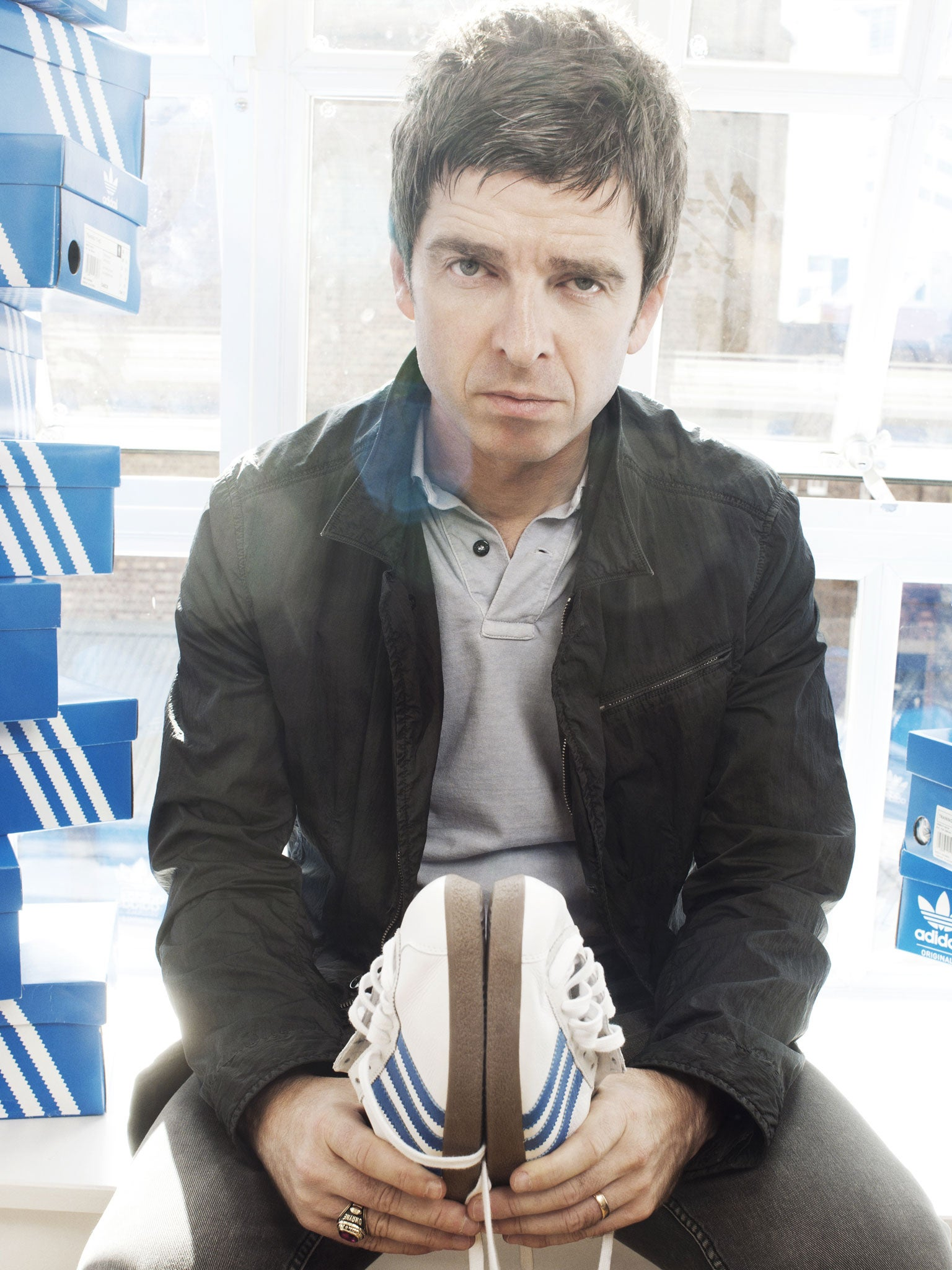 Noel Gallagher  Love is... lending your best trainers  21c61cb9d