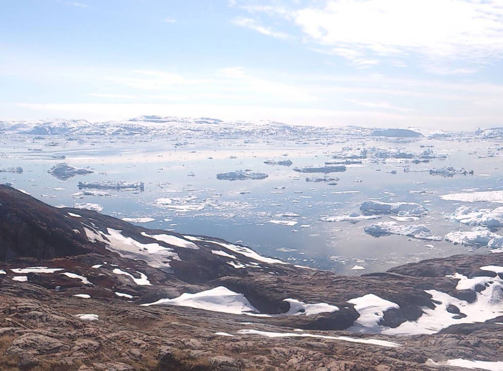 Meltdown: the Grace satellite has detected a rapid acceleration in the melting of glacier ice in Greenland and Antarctica