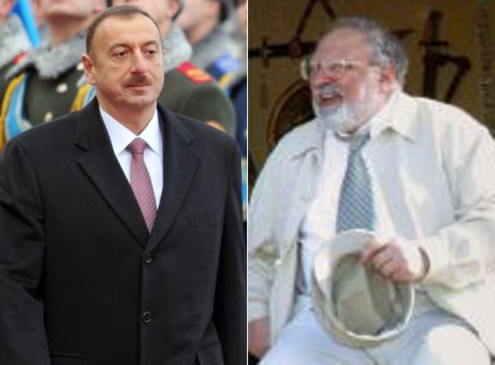 Rustam Ibragimbekov and Ilham Aliyev will go head to head for the Azeri presidency