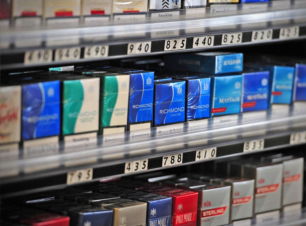 Tobacco manufacturers have been accused of producing packaging aimed at attracting young smokers