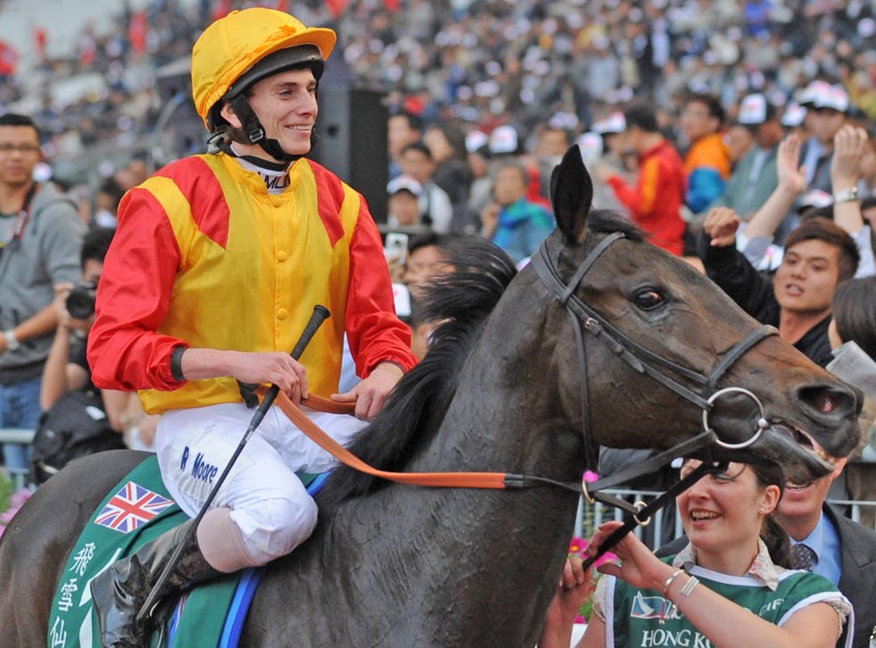 Snow Fairy won the Hong Kong Cup in 2010 with Ryan Moore on board