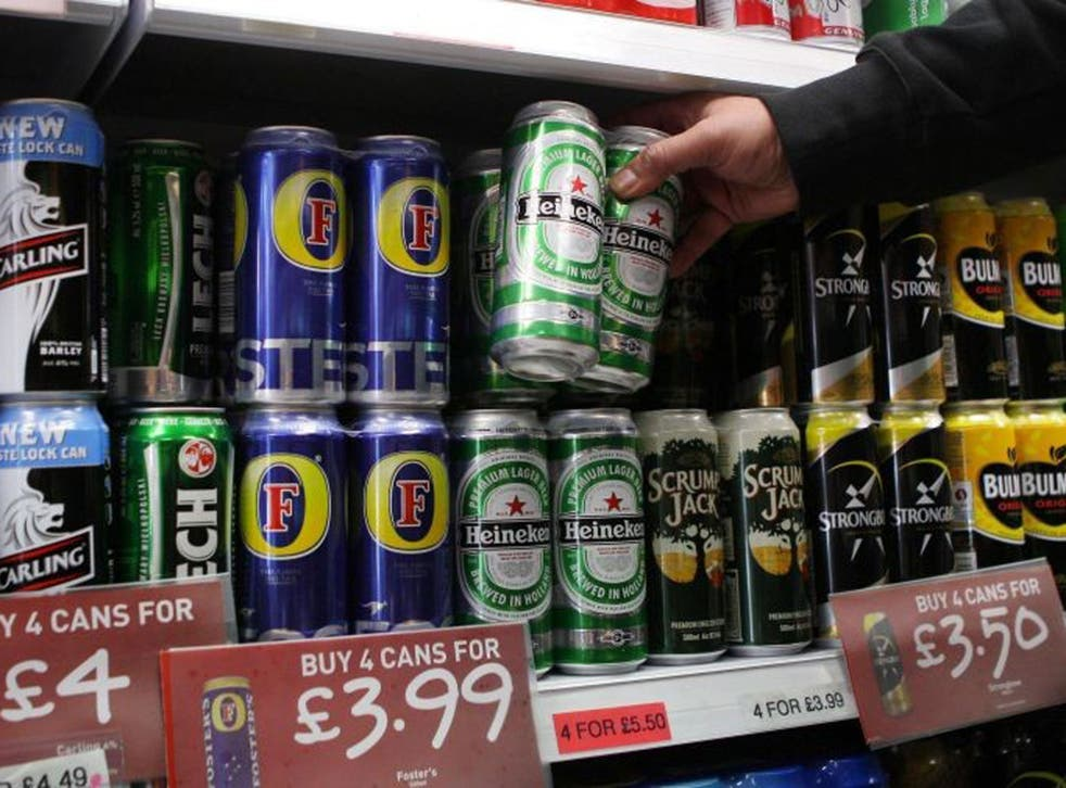 Plans to introduce minimum pricing on alcohol have now been shelved by the Government