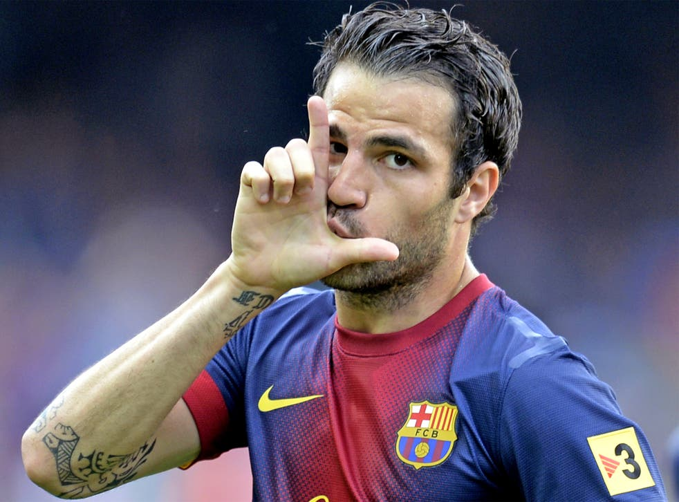 Manchester United look set to lose out on capturing Cesc Fabregas