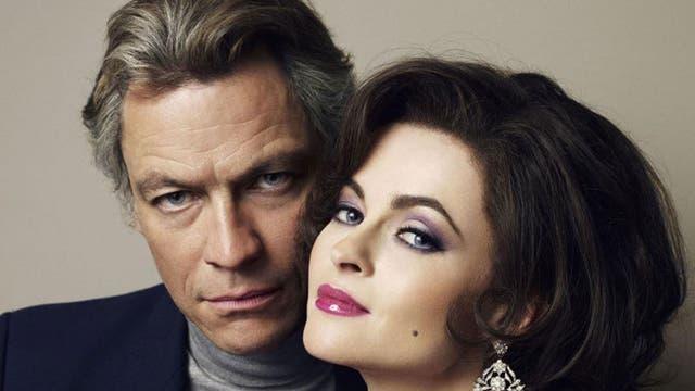 Dominic West And Helena Bonham Carter as Richard Burton ans Elizabeth Taylor