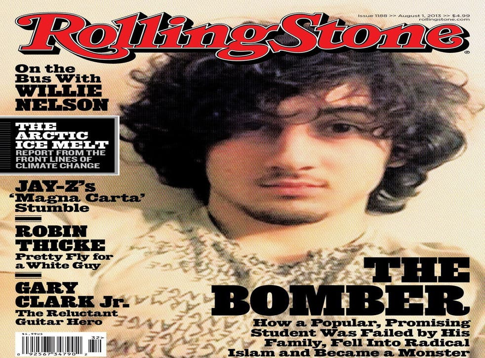 The cover of Rolling Stone
