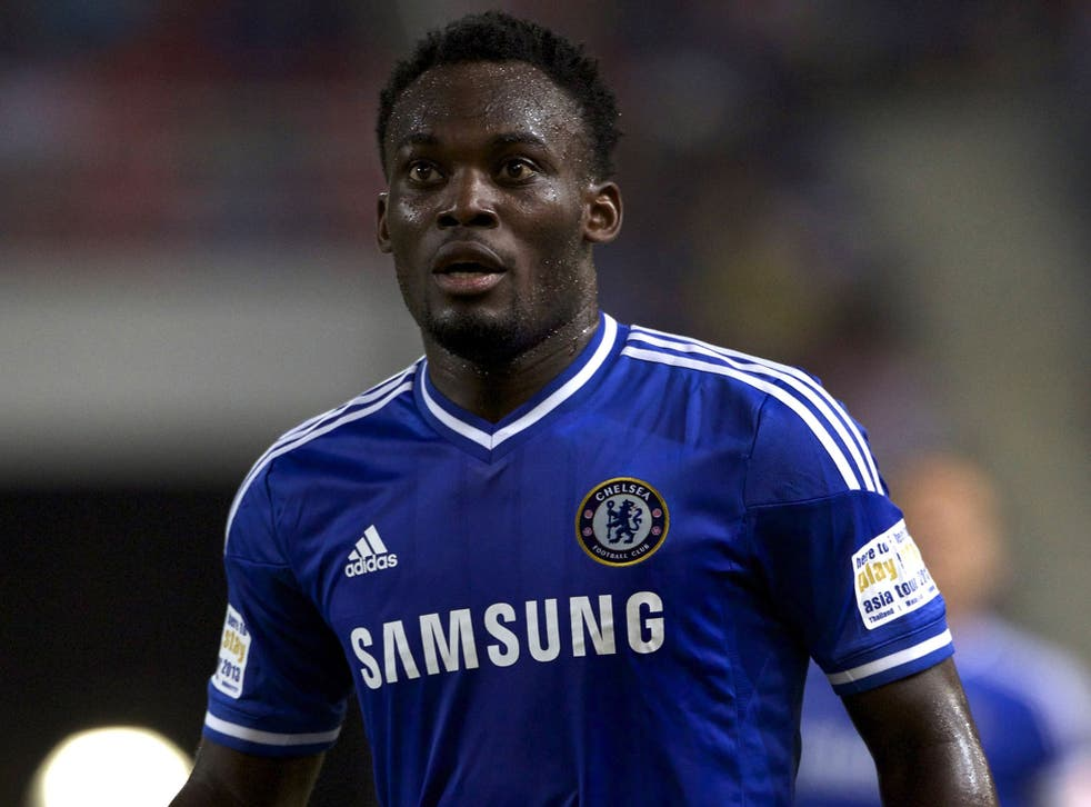 Michael Essien was introduced to local press by Jose Mourinho as 'my son'