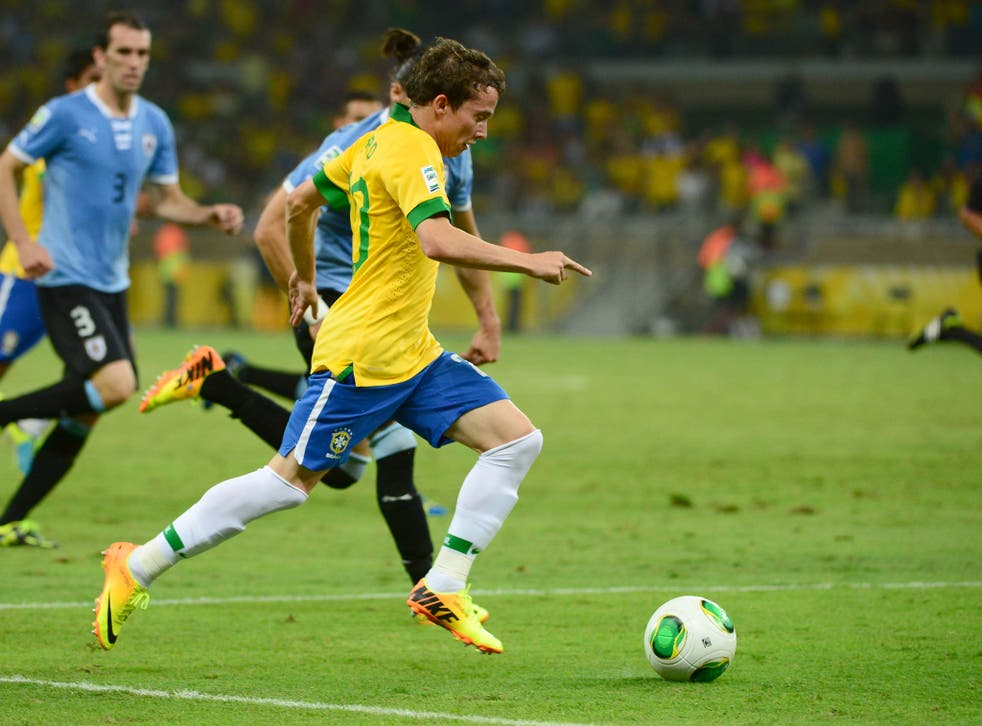 Brazilian hot prospect Bernard looks likely to move to Europe with Liverpool and Tottenham interested