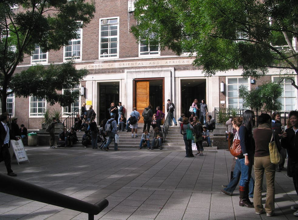 <p>SOAS at the University of London </p>