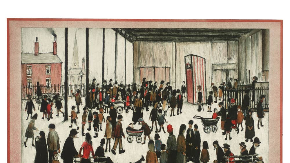 Charles Darwent on The Lyons Teashop Lithographs: Muzak for