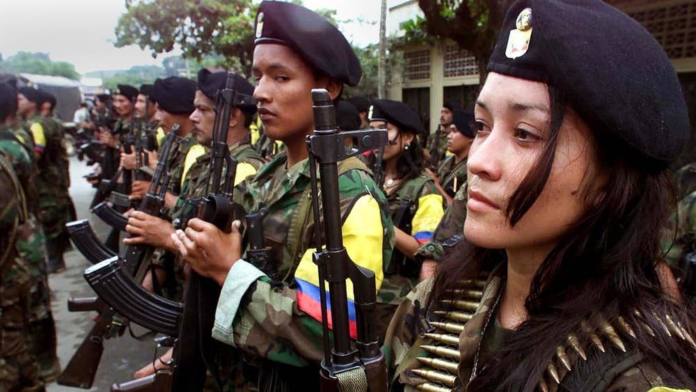 Image result for farc insurgents
