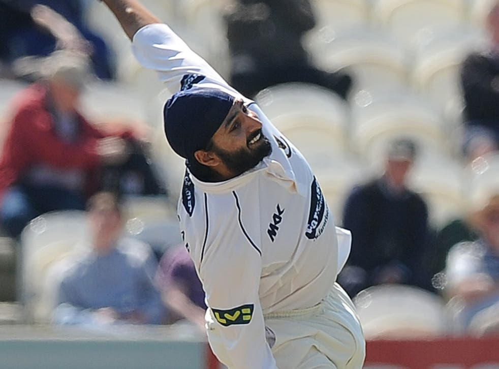 Not the full Monty: Sussex spinner Monty Panesar has been out of form