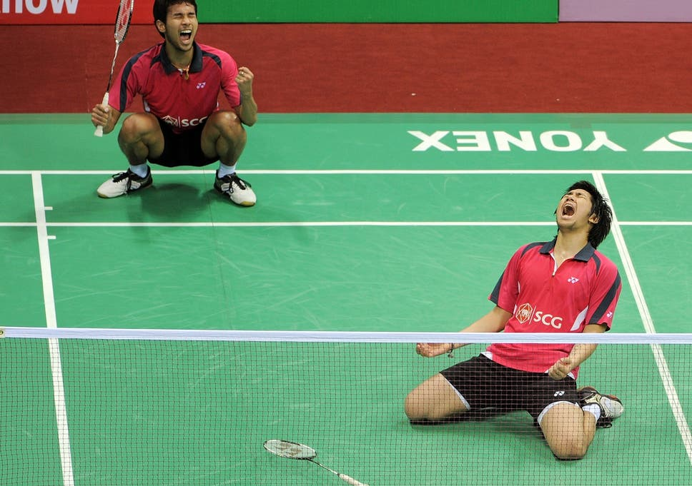 badminton bizarre fight breaks out between london 2012 partners at